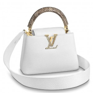 Louis Vuitton Capucines Mini With Ayers Snakeskin Handle M56399