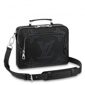 Louis Vuitton Flight Case Taurillon Shadow M57287