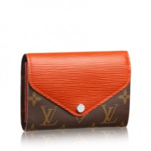 Louis Vuitton Marie Lou Compact Wallet Monogram Canvas M60495