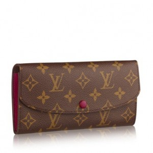 Louis Vuitton Emilie Wallet Monogram Canvas M60697