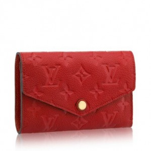 Louis Vuitton Compact Curieuse Wallet Monogram Empreinte M60735
