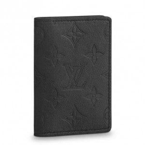 Louis Vuitton Pocket Organizer Monogram Shadow M62899