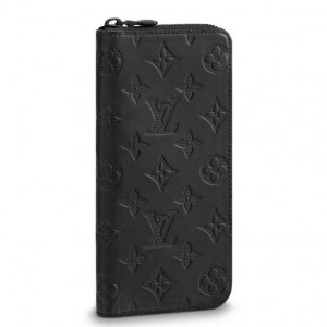 Louis Vuitton Zippy Wallet Vertical Monogram Shadow M62902