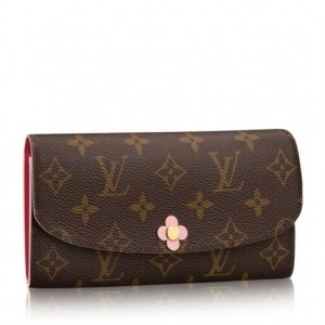 Louis Vuitton Emilie Wallet Monogram Canvas M64202