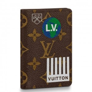 Louis Vuitton Pocket Organizer Monogram Canvas M67818