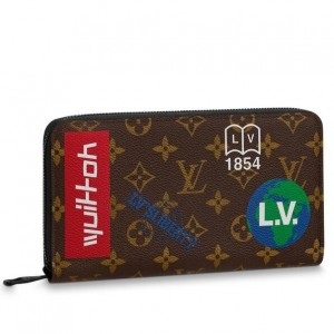 Louis Vuitton Zippy Organizer Monogram Canvas M67826