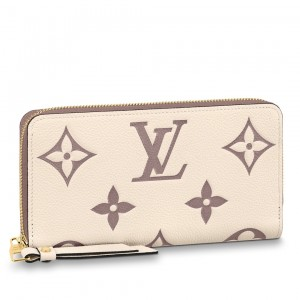 Louis Vuitton Zippy Wallet Bicolor Monogram Empreinte M80116