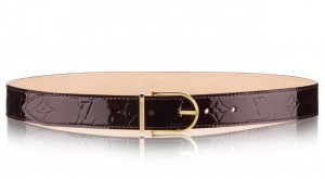 Louis Vuitton Comete Belt Monogram Vernis M9480V