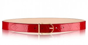 Louis Vuitton Comete Belt Monogram Vernis M9481V