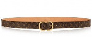Louis Vuitton Mini 25MM Belt Monogram Canvas M9584W