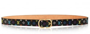 Louis Vuitton Mini 25MM Belt Monogram Multicolor M9586W