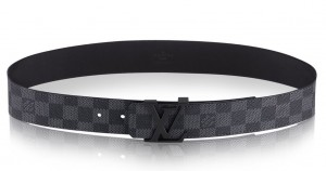 Louis Vuitton LV Initiales Belt Damier Graphite M9808S
