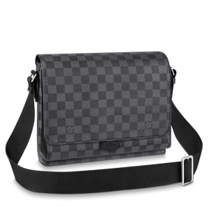 Louis Vuitton New Flap Messenger Damier Graphite N40418