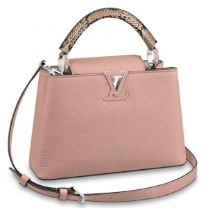 Louis Vuitton Capucines BB Bag With Python Handle N92042