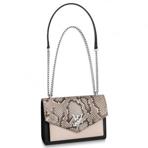 Louis Vuitton Python Mylockme BB Bag N97005
